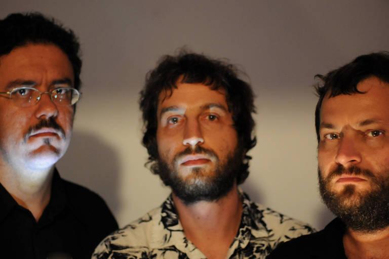 The Mockers (da esq. para a dir.): Regis Damasceno, Clayton Martin e Rian Batista