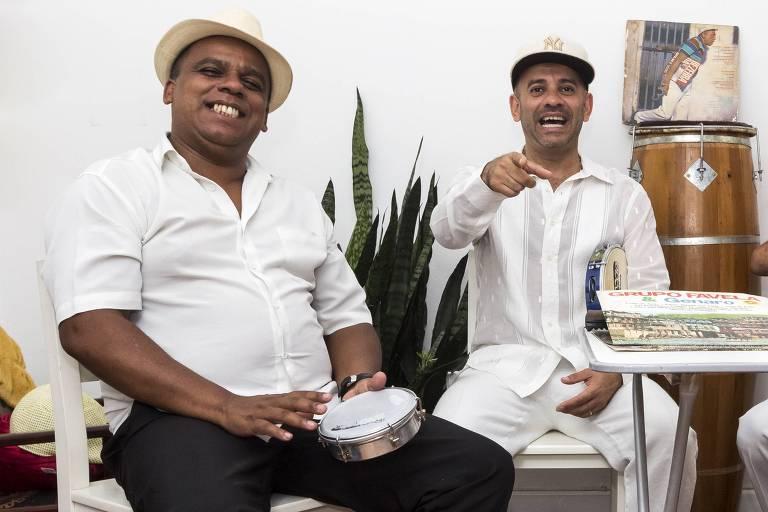 Edu Batata e Rodrigo Pirituba lideram roda de samba do Boakumba