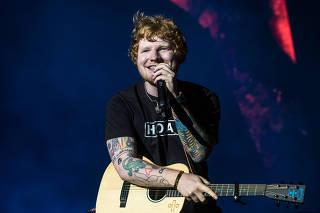 Show de Ed Sheeran em São Paulo