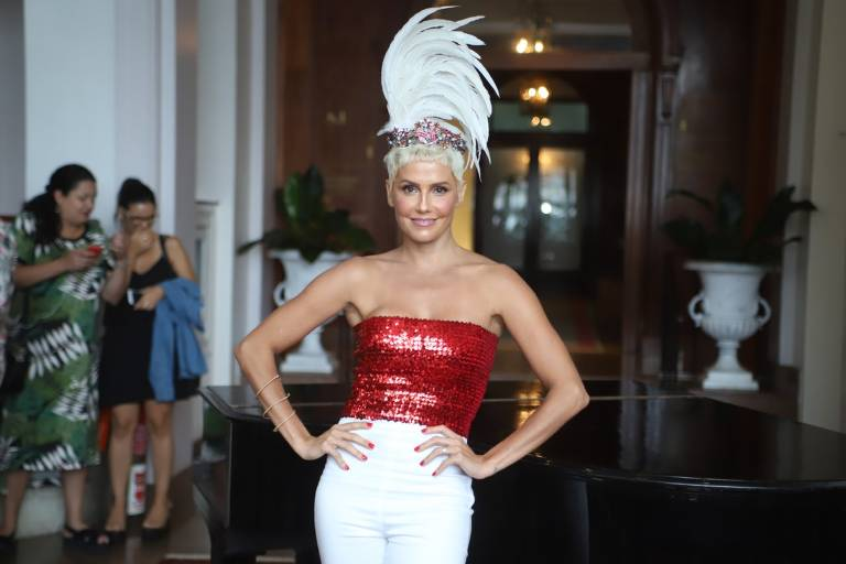 Deborah Secco no Carnaval de 2019