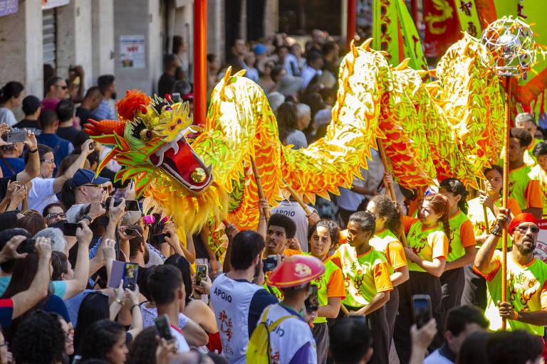 Festa do Ano Novo Chines, em São Paulo