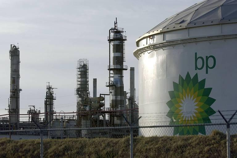 Refinaria da BP, no Texas, um dos maiores grupos europeus de energia
