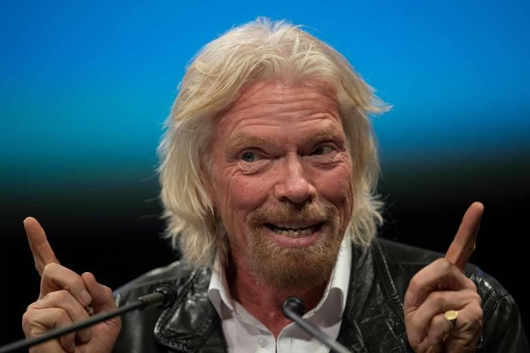 Richard Branson, fundador da Virgin Atlantic
