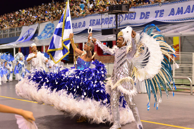 Desfile da Colorado do Brás no Sambódromo do Anhembi, em 2018