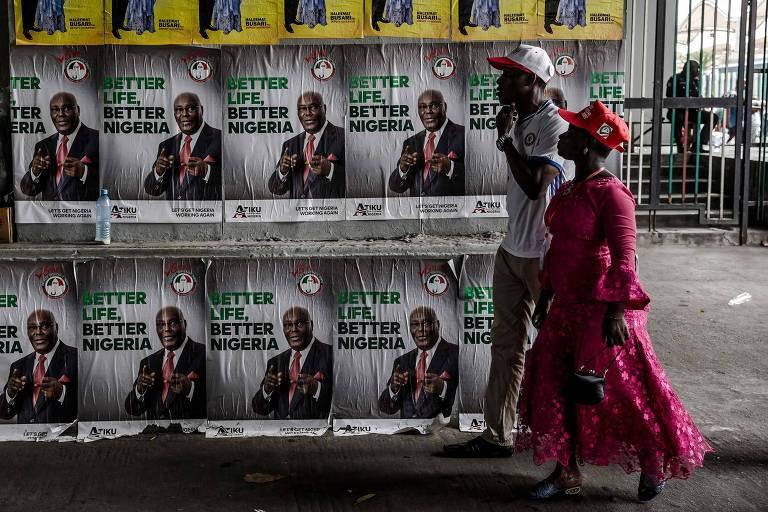 Entenda o que está em jogo na eleição presidencial da Nigéria