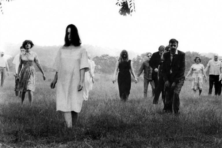 Cena de 'A Noite dos Mortos Vivos', de George A. Romero