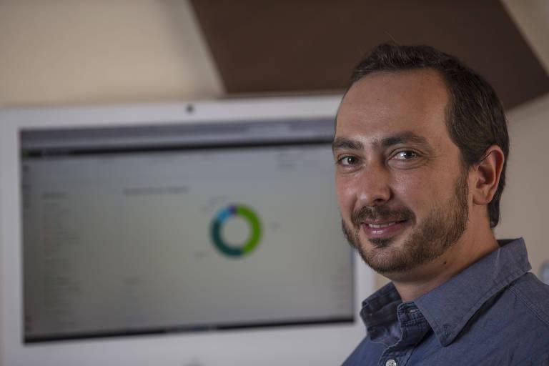 O empresário Fernando Ordones utiliza software de contabilidade em SP