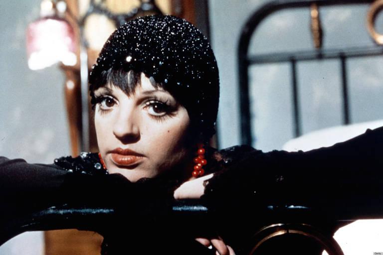 Liza Minnelli em 'Cabaret', filme de 1972 de Bob Fosse