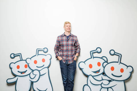 FILE Ñ Steve Huffman, a co-founder and now chief executive of Reddit, in San Francisco, July 16, 2015. Under Huffman, Reddit has moved to clean up some of the discussion forum host's more noxious elements, and hopes that a new blocking tool will dampen negative speech and encourage community engagement. (Jason Henry/The New York Times) ORG XMIT: XNYT139