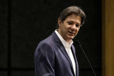 A pergunta é quem é o adulto na sala, diz Haddad sobre governo Bolsonaro