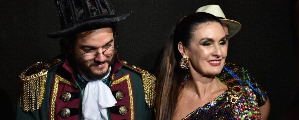 Túlio Gadêlha e Fátima Bernardes são homenageados no Baile dos Artistas, no Recife