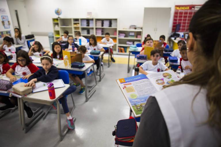 Escola bilíngue em SP