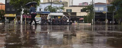 SAO PAULO - SP - 16.02.2019 - Largo da Batata onde teria um pancadadão pré-carnaval.  (Foto: Danilo Verpa/Folhapress, COTIDIANO)