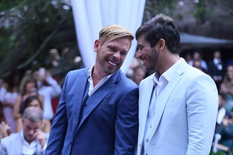 Casamento de Bruno Chateaubriand e Diogo Bocca