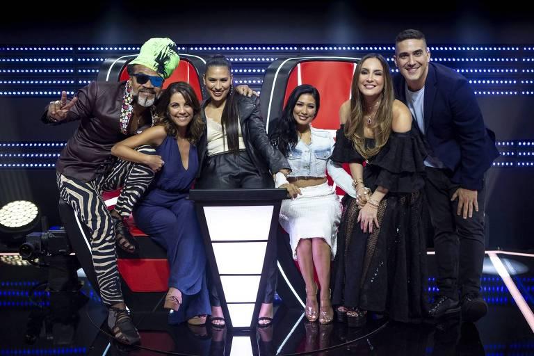 Carlinhos Brown, Thalita Rebouças, Simone e Simaria, Claudia Leitte e André Marques