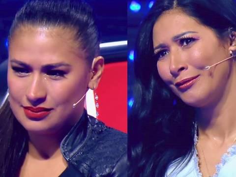 Simone e Simaria choram em apresentação no The Voice Kids