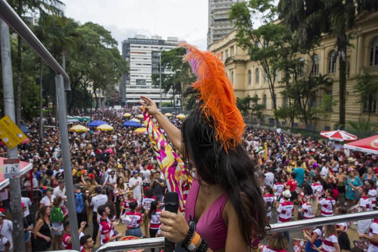 Pré-Carnaval em São Paulo
