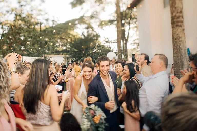 Chay Suede e Laura Neiva se casaram no dia 2 de fevereiro 2019 em São Paulo, depois de algumas indas e vindas