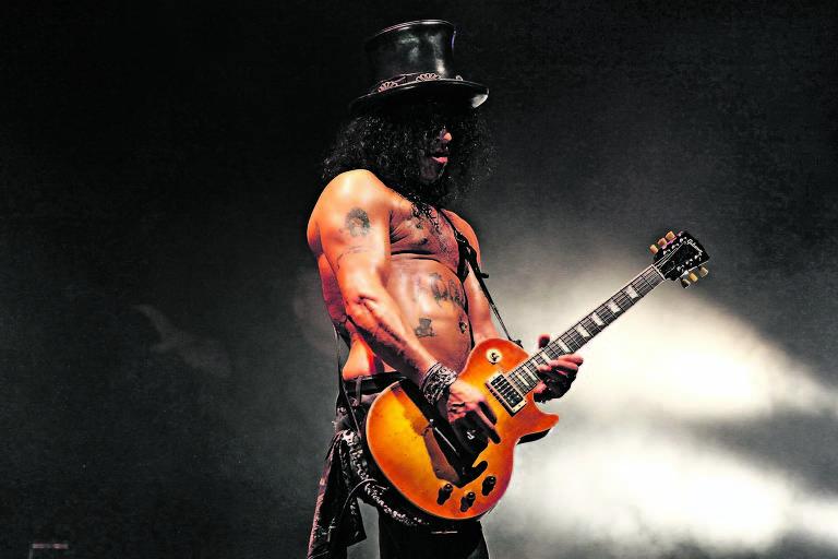 4514852e18 Slash, rockstar excêntrico, afirma que rock perdeu terreno, mas não ...