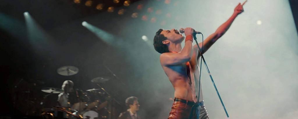 Bohemian Rhapsody [Bohemian Rhapsody, Estados Unidos, 2018], de Bryan Singer (Fox). Gênero: biografia. Elenco: Rami Malek, Lucy Boynton. Classificação: verifique em www.justica.gov.br/seus-direitos/classificacao