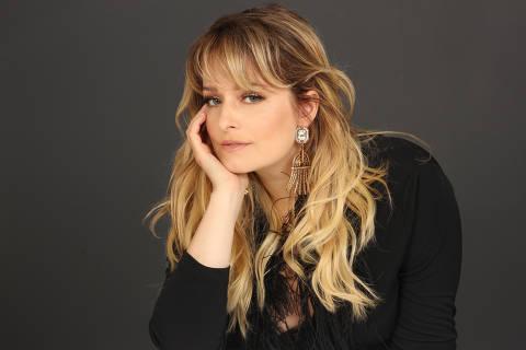 A atriz Luciana Vendramini