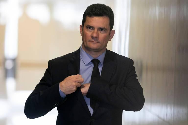 O ministro da Justiça, Sergio Moro, no dia em que encaminhou ao Congresso seu projeto anticrime