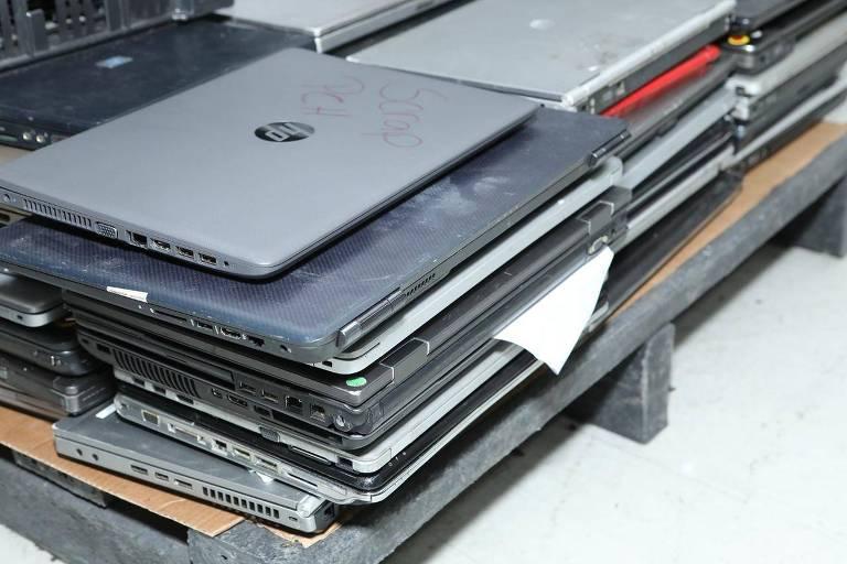 laptops para desmontar e reciclar HP