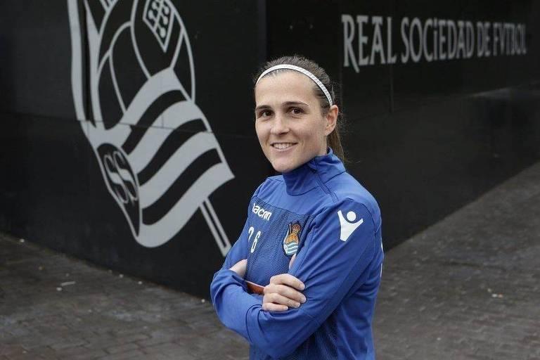 Capitã da equipe, Sandra Ramajo defende a Real Sociedad desde 2008