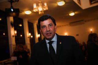 Floriano Pesaro em evento do Memorial da Imigração Judaica de São Paulo