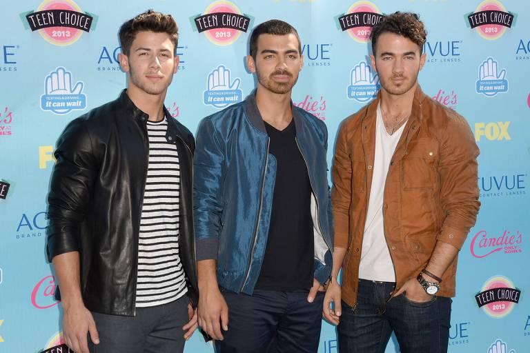 Nick Jonas, Joe Jonas e Kevin Jonas