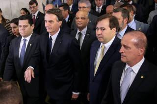 BOLSONARO / MAIA / CAMARA / SENADO / PREVIDENCIA