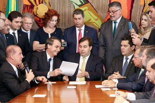 BRASIL-BRASILIA-BOLSONARO-CONGRESO-REFORMA DE PENSIONES