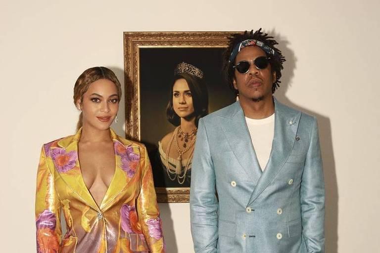 Beyoncé e Jay-Z para o Brit Awards