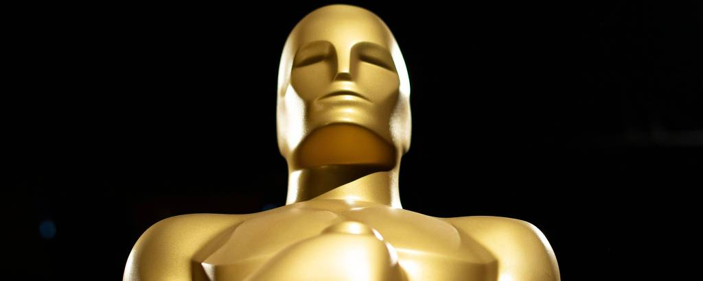 A estátua do prêmio Oscar