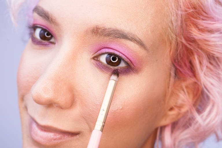 Maquiagem de carnaval - Lia Weiz
