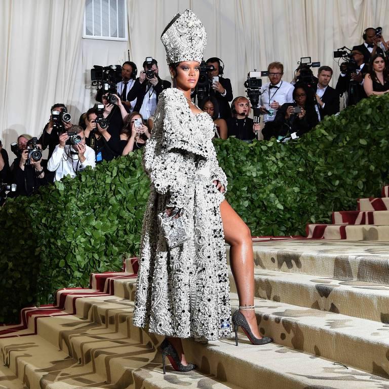 Rihanna no 2018 Met Gala