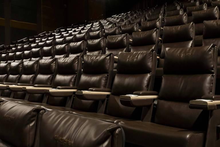 Sala de cinema do Cinesystem, no Morumbi Town Shopping