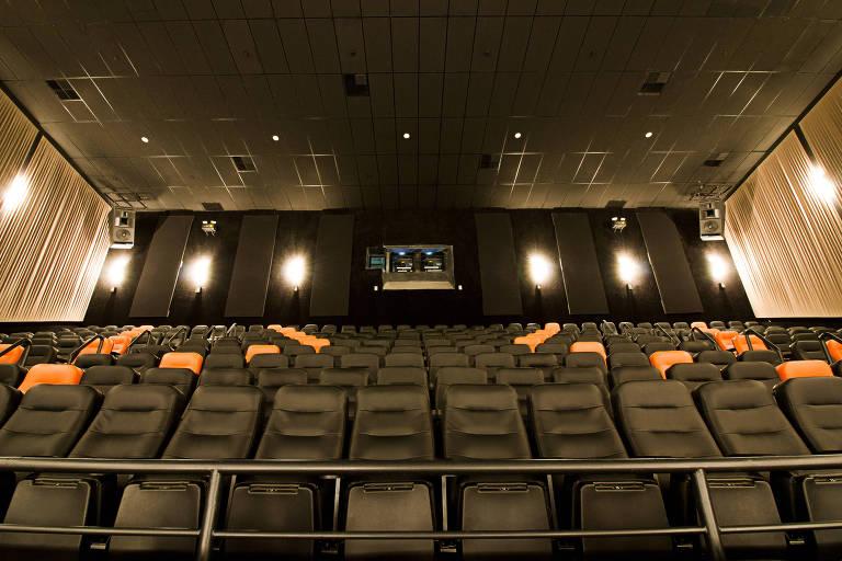 Sala Imax no Espaço Itaú de Cinema Pompeia, no Bourbon Shopping