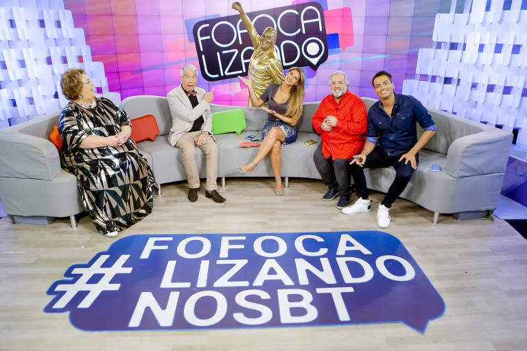Fofocalizando comemora aniversário de 2 anos no SBT com Lívia Andrade, Décio Piccinini, Léo Dias, Mamma Bruschetta, Leão Lobo, Gabriel Cartolano e convidados especiais