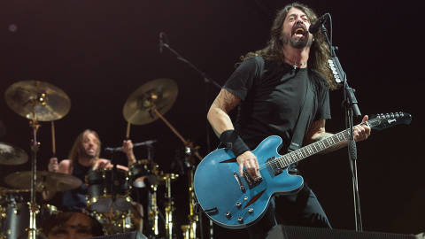 Show do Foo Fighters no Maracanã, Rio de Janeiro