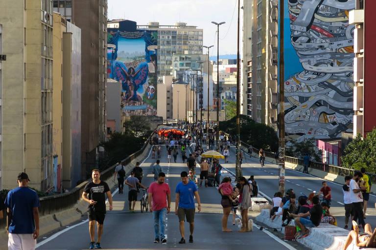 Projeto de transformação do elevado João Goulart, o Minhocão, em parque é alvo de consulta pública
