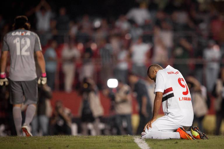 Eliminações do São Paulo no Morumbi