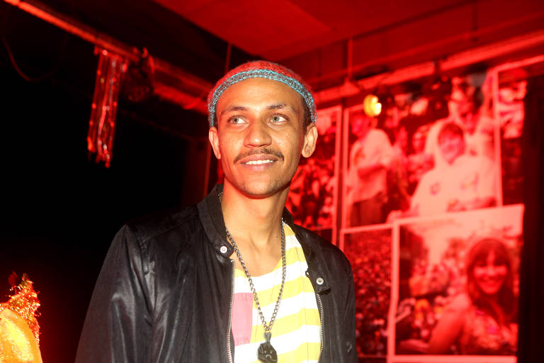 O rapper Edgar que faz um show no festival promovido pela editora Todavia