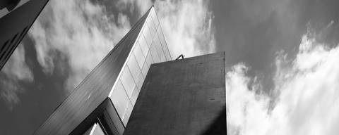Escultura 'Echo', de Richard Serra.  Foto: Cristiano Mascaro/Instituto Moreira Salles.