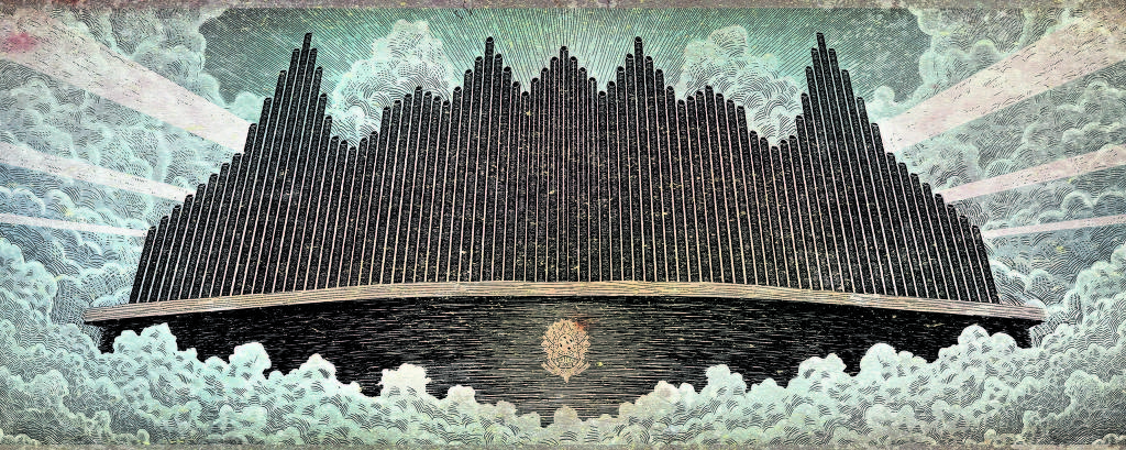templo no céu
