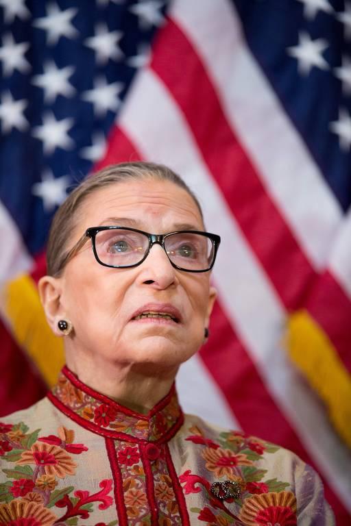 A juíza da suprema corte americana Ruth Bader Ginsburg