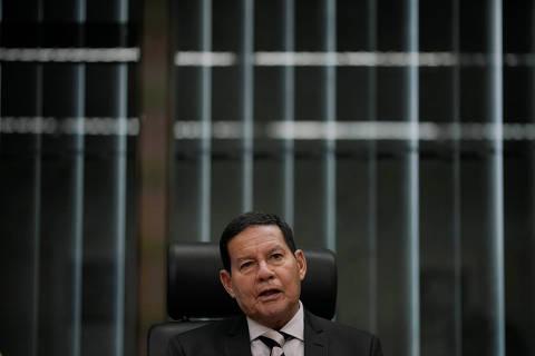 'É uma situação de tensão, mas nada mais', diz Mourão sobre Venezuela