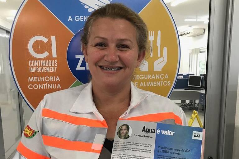 'Basta querer', diz sobre voluntariado mulher premiada por solidariedade