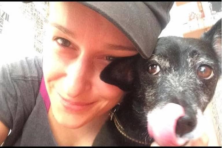 Homenagem à cadela Luna