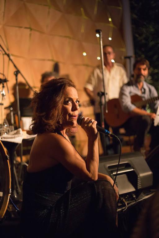 Show Bebel Gilberto no Emiliano, no Rio